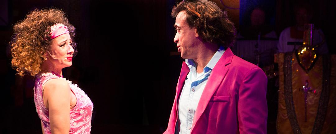 Oh Dio Mio! Ein komödiantisches Dinner-Musical in Berlin | Pascale Camele und Claudio Maniscalco